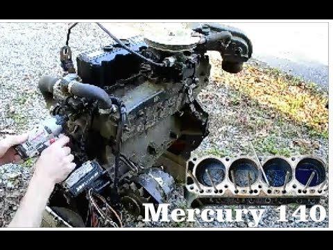Disassembing A Seized Mercury 140 3.0 Boat Engine