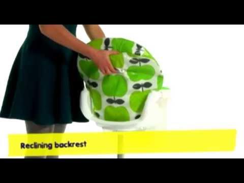 Cosatto 3Sixti2 Hapi Apple - Highchair Demonstration Video | Nursery Furniture Store