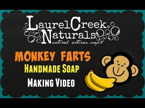 Laurel Creek Naturals | Making Monkey Farts {natural artisan soap}