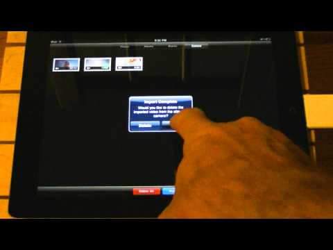 How To Import Video and Pictures From an SD Card to an iPad