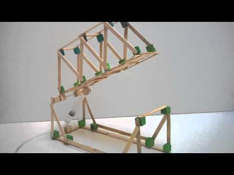 Hydraulic bridge project demonstration