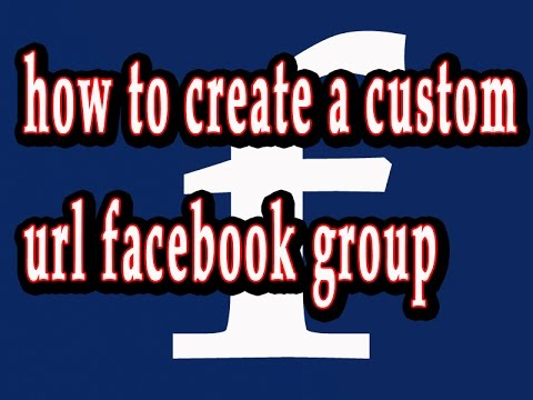 facebook group custom url set  bangla tutorial 2017