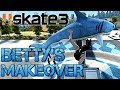 Download  Skate 3 - Part 5   BETTY'S MAKEOVER   COFFIN OVER THE SHARK MP3,3GP,MP4