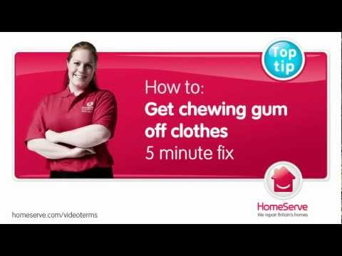 Getting-chewing-gum-off-clothes.mov