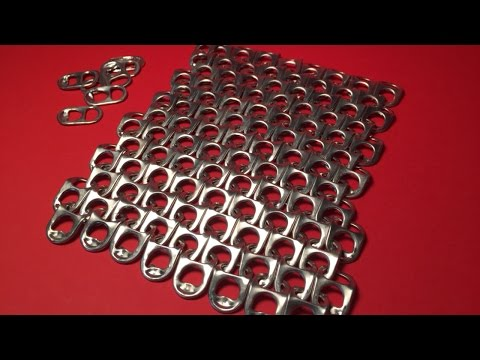 Make a Pretty Chain Mail with Coke Tabs - DIY Crafts - Guidecentral