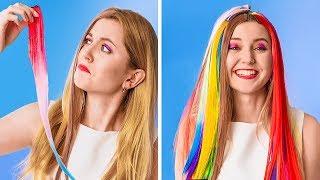 تحدّي الـ100 طبقة    100 طبقة من خصلات الشعر وطلاء الأظافر