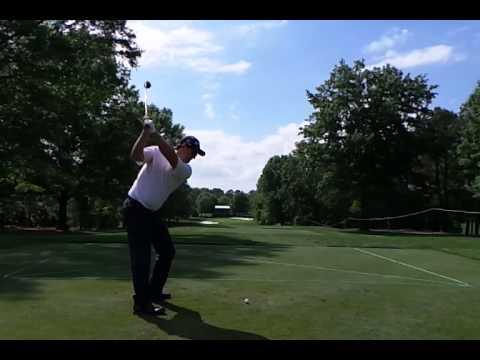 Padrig Harrington Hybrid Golf Swing