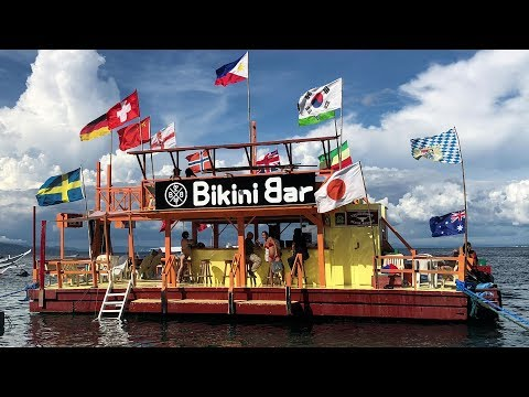 Day 1 at the Bikini Bar - Puerto Galera - Best Floating Bar in the Philippines