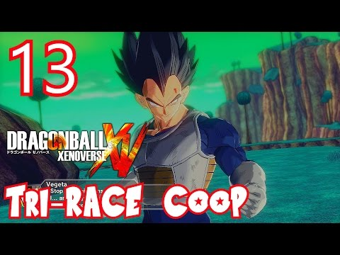 Dragon Ball Xenoverse Parallel Quest 13 Tri-Race Coop - Z-Rank, ALL OBJECTIVES