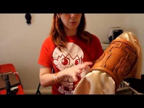 Cosplay Foam Armor Tutorial [LoZ: TP Zelda Shoulder Piece]