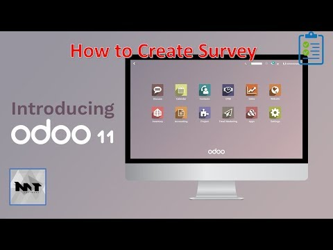 How to Create Survey on Odoo 11