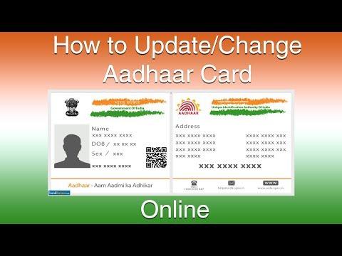 Aadhar card Name Correction