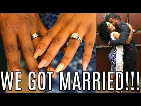 WE GOT MARRIED!!! OUR COURTHOUSE WEDDING VIDEO!!