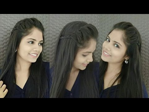 2 minute French Headband Hairstyle with Trick | DIY Headband Hairstyles for Girls