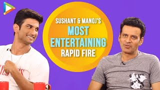 EPIC RAPID FIRE: Sushant Singh Rajput & Manoj Bajpayee On Tinder, Mahatma Gandhi, Biopics etc