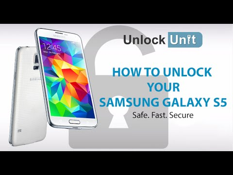 HOW TO UNLOCK YOUR SAMSUNG GALAXY S5