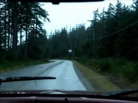 Fifteen minute ride from Tlell, BC Haida Gwaii (compressed into 2min)