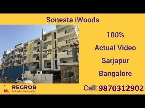 Sonestaa iWoods Bangalore| Actual Video | Call 9870312902