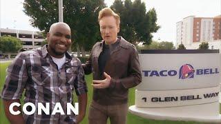 Conan Visits Taco Bell  - CONAN on TBS