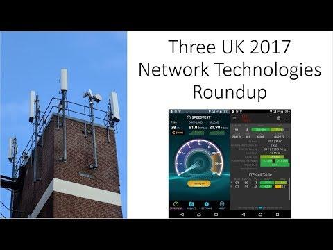 Three UK 2017 Network Upgrades Roundup: 2100MHz Refarm, Supplementary Downlink, Core Upgrades + more