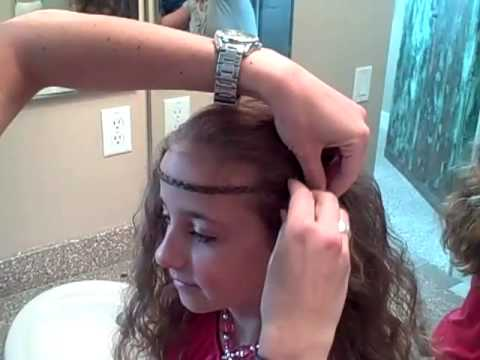 Hippy Braided Headband | Cute Girls Hairstyles