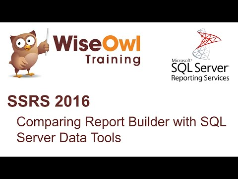 SSRS 2016 - Comparing Report Builder with SQL Server Data Tools