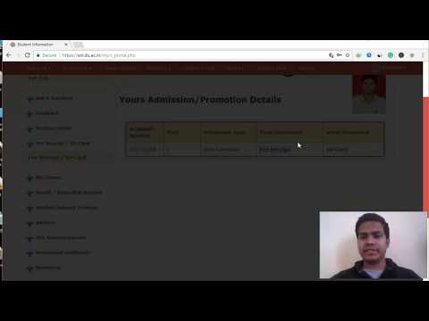 How to download DU SOL Fee Receipt & Admit Card ? | SOL DU Admissions 2018