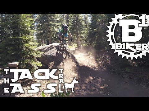 The Jackass Trail - North Lake Tahoe - Truckee, Ca - Mountain Biking