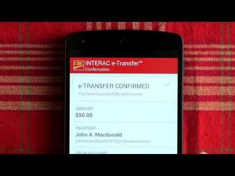 CIBC INTERAC® e-Transfer
