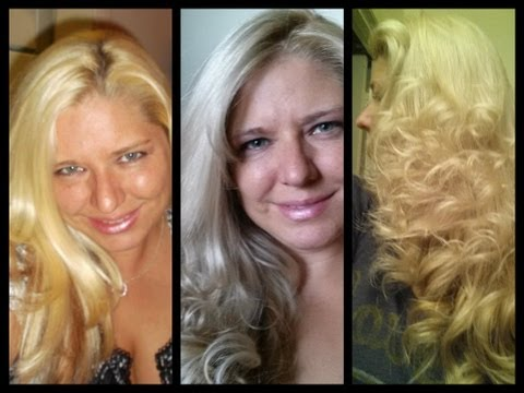 HOW I FIXED MY BLONDE HAIR WHEN I DYED IT GREY  FROM BOX HAIR DYE
