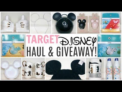 TARGET DISNEY HAUL & GIVEAWAY! ♡ Mickey's 90th Birthday Celebration Collaboration! SUMMER 2018 ºOº
