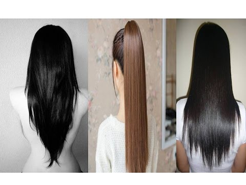 Straight Hair   How to Straighten Hair Overnight, Naturally, Without Heat