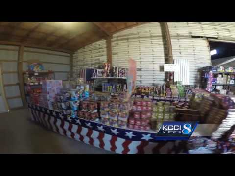 Thousands of dollars in fireworks sit unsold amid permit confusion