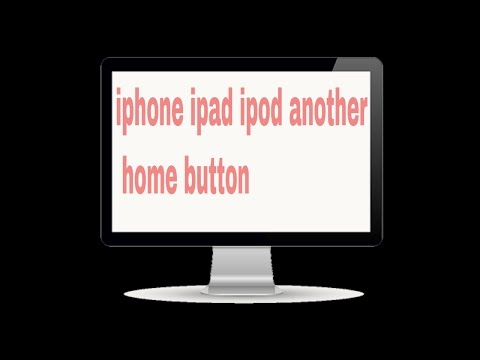 How to Active Assistive Touch or althernative button  any iPhone iPad iPod 2017