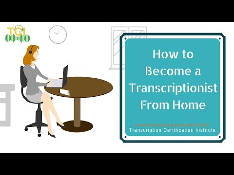 How to Become a Transcriptionist From Home Easily