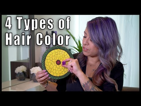 Explaining the Different Types of Hair Color  | ChromaCrowns