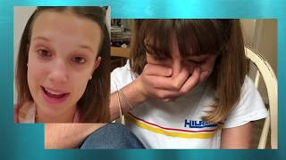 Stranger Things Millie Bobby Brown Surprises SUPER Fan Kiki Bee with a PERSONAL FRIENDSHIP MESSAGE!!