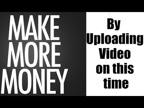 [Hindi-हिन्दी] Best Time for Publish videos on Youtube II Earn More Money