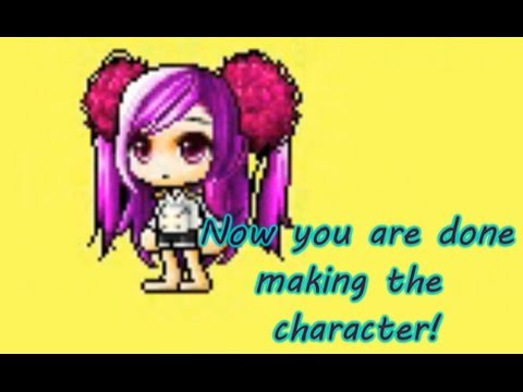 How to make a mixed hairstyle with bannedstory [Maple Story]