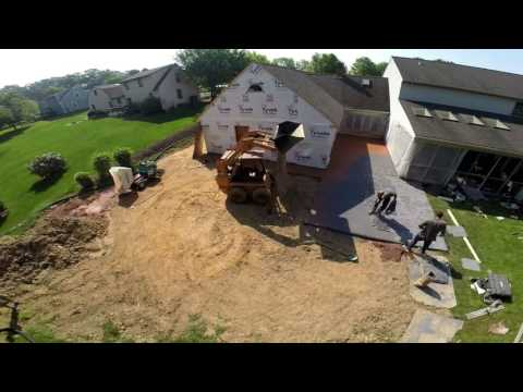 Garage Addition - Start to Finish - Drone Gets it DONE!