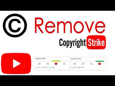 How To Remove Copyright Strike legally From Your Youtube Channel | Submit Counter Notification