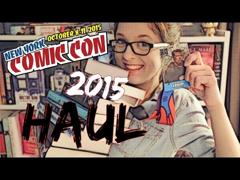 NEW YORK COMIC CON HAUL | 2015