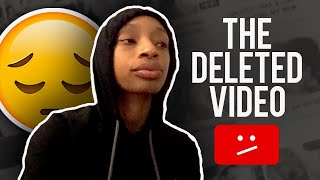 ADDRESSING THE DELTED VIDEO