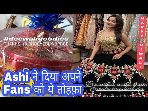 Xxx Mp4 Yeh Un Dinon Ki Baat Hai Ashi Singh ने Diwali पर Fans को दिया Chocolate Gift YUDKBH Today Update 3gp Sex