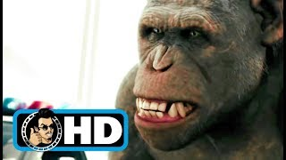 Rise of the Planet of the Apes (2011) Movie Clip - Bridge Battle |FULL HD| Andy Serkis
