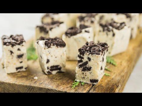 Cookies + Cream Fudge