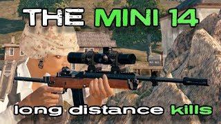 The Mini 14 - Long Range Kills   Playerunknown