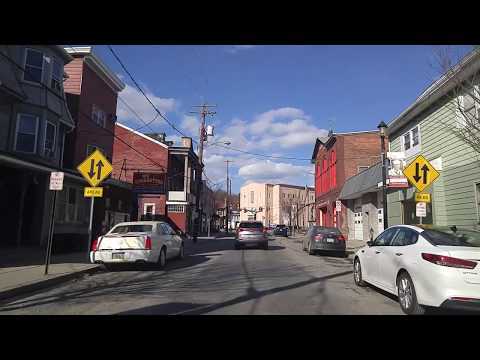 Driving by Tamaqua,Pennsylvania