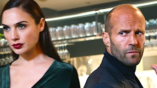 """Jason Statham Super Bowl Commercial 2017 WIX """"Restaurant"""" Gal Gadot Funny Sexy Superbowl Ad 2017"""