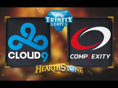 Hearthstone - Cloud9 vs. compLexity - Hearthstone Trinity Series - Day 2